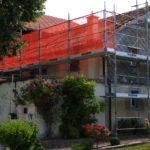 Echafaudages pour rénovation