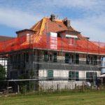 Echafaudages travaux toiture