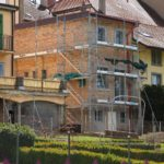 Echafaudages facades Romont