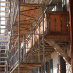 Echafaudages renovation ferme
